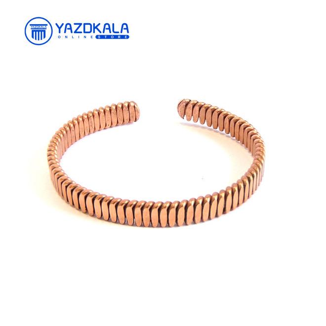 دستبند مسی مدل فنري