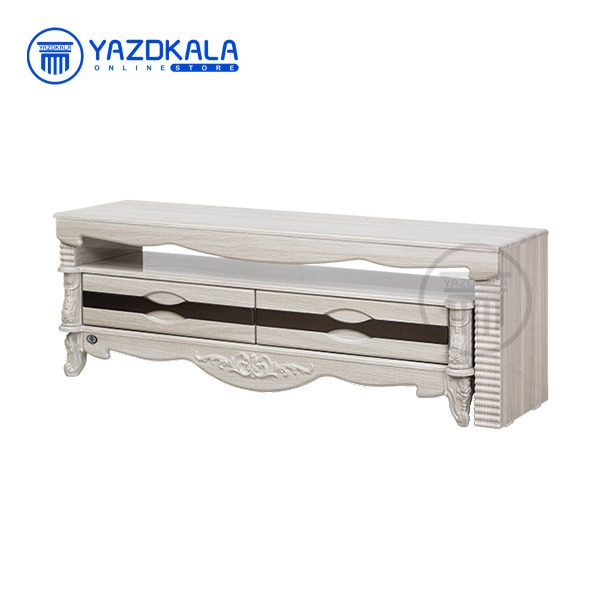 میز تلویزیون MDF متین مدل R704 با قابلیت تغییر سایز ، 140 سانتی