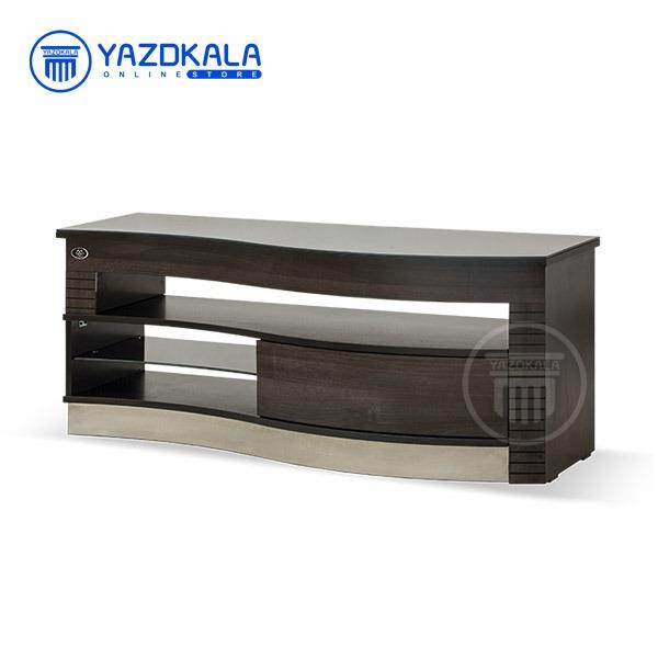 میز  تلویزیون MDF متین مدل R402 با قابلیت تغییر سایز ، 140 سانتی