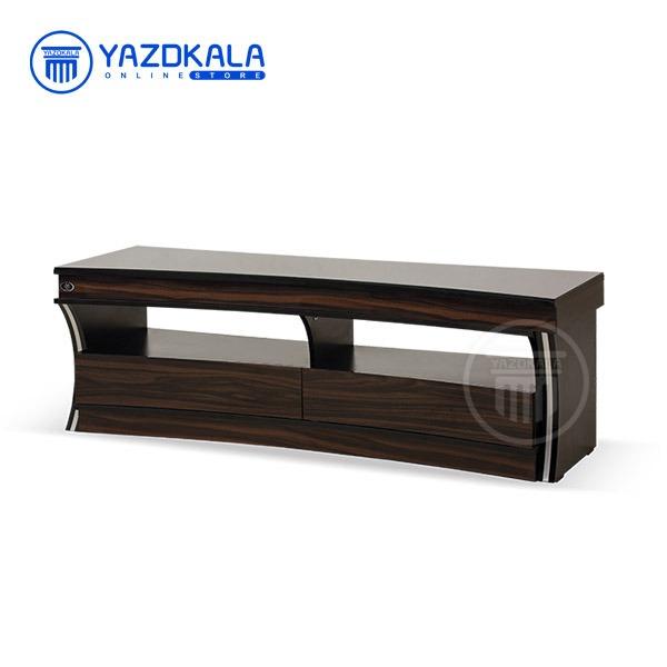 میز  تلویزیون MDF متین مدل R67 با قابلیت تغییر سایز ، 150 سانتی