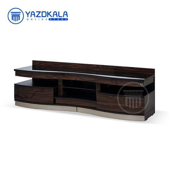 میز تلویزیون MDF متین مدل R606 با قابلیت تغییر سایز ، 160 سانتی