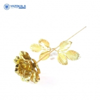شاخه گل برنج | لعاب برنجی |  طلایی رنگ | کد 2061