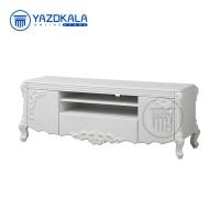 میز تلویزیون MDF متین مدل R718 با قابلیت تغییر سایز ، 140 سانتی